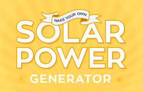diy how to make your own solar power generator