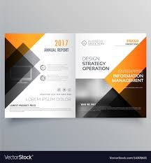 Brochure Template Design Free Stylish Booklet Brochure Template Design With