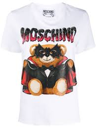 Moschino <b>Футболка</b> С Принтом <b>Bat</b> Teddybear -20%- Купить В ...