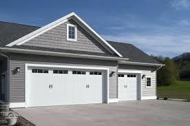 white garage doors x 8 9 x 8 doors white with 2 4 lite windows decorative spear handles white garage doors lowes