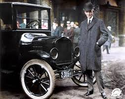 henry ford model t. Beautiful Henry Henry Ford In 1921 With His Model T  Throughout T E