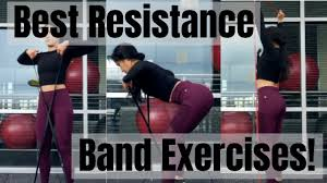 resistance band workout for women home workout without equipment fitmas day 6
