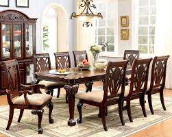 Cherry Wood Kitchen Table Sets Furniture Of America Cm3185t Cm3185ac Cm3185sc Petersburg I 9