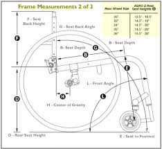 Wheelchair Size Chart Aero Z Aluminum Wheelchair From Tilite