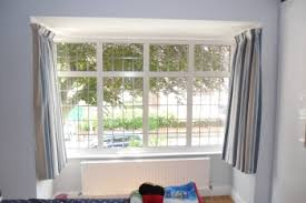 Square bay. Large bay window