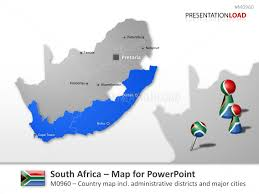 powerpoint map templates powerpoint maps of africa emea region african countries
