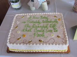 Winnie The Pooh Quote Cake With Bees Picture Of Wrights Dairy