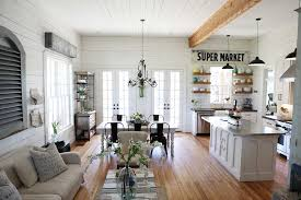 Kitchen:Modern Farmhouse Kitchen Cabinet Design Interior In Stylish Home  Design Classic White Fram House