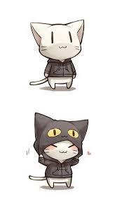 Pin de Alissa Hamm em cat | Gatinho desenho, Gatinho kawaii, Anime ...
