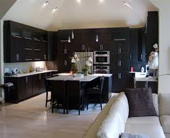 Concept Kitchen Ideas Dark Cabinets Modern Wood X Sibilco Throughout Beautiful