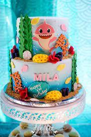 baby shark birthday party kara s
