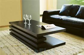 modern black furniture. great modern coffee tables with unique furniture design ideas awesome black color designs striped rug living room u