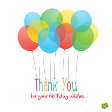 thank you for the birthday wishes 65