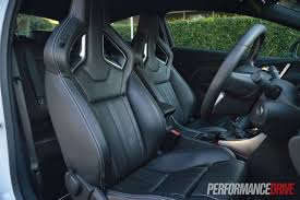 2013 Opel Astra OPC front seats |