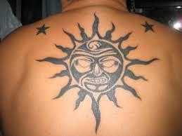 Tree Stars And The Sun Tattoo Flip Top Flickr