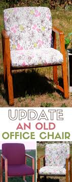 office chair upholstery. Update An Old Office Chair | Upholstery Home Decor Furniture Makeover Fabrics