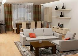 Interior Design For Small Space Living Room Apartment Stylish And Calm Interior Design Of Small Apartment