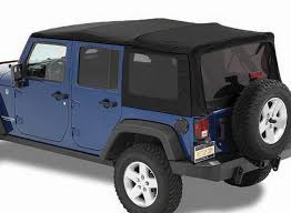 bestop 79837 17 twill replace a top with tinted windows without doors in black for 07 09 jeep wrangler unlimited jk 4 door quadratec