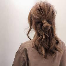 上品にも可愛くもハーフアップのやり方とおすすめのアレンジ集hair