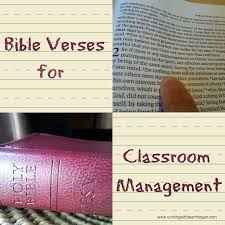 Bible Verses For Classroom Management Running With Team Hogan