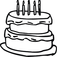 Small Picture Cake Coloring Page chuckbuttcom