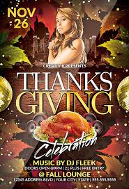 thanksgiving party flyer thanksgiving party flyer template 2 by creativb graphicriver