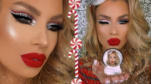 holiday party makeup tutorial