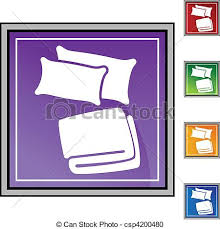 blanket and pillow clipart. pillow blanket - csp4200480 and clipart e