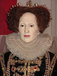 queen elizabeth i eyebrows severely plucked hairline plucked possibly powdered face tudor