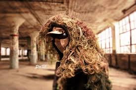 picture of diy assault ghillie from a hoo mk ii