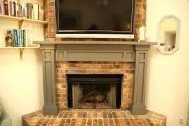 tile over brick fireplace tile over painted brick fireplace floor decoration ideas tile refacing brick fireplace