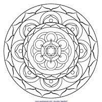 Mandala Da Colorare Mandalaweb