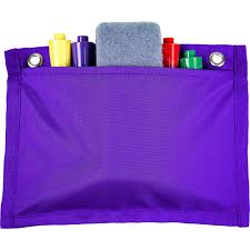 Magnetic Board Buddies Purple Pocket Chart Pocket Chart