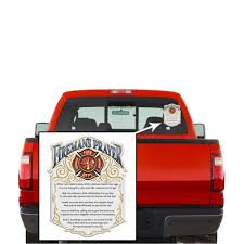 firefighter decals show your pride with our fireman s prayer patriotic decals perfect for your kitchen car wall or bike gifts for firefighters