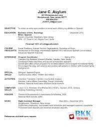 Objective For Graduate School Resume Graduate School Resume Objective Resume For Study 10