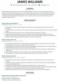 Sample Resume For Teaching Sample Resume For Teachers Without Experience Awesome
