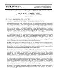 How To Write A Resume For A Federal Job Federal Resumes Templates