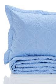 image of melange home wedding ring full queen quilt set blue