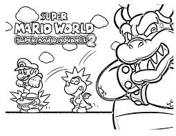 Super Mario Galaxy Coloring Pages Super Coloring Pictures Coloring