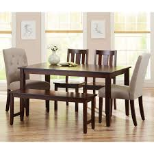 Better Homes and Gardens Bankston Dining Chairs, Set of 2, Mocha ...