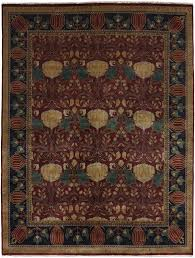pottery barn outdoor rugs beautiful the oak park rug pc 7a arts and crafts persian carpets mission
