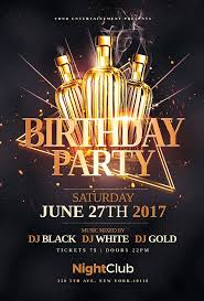 Birthday Flyers Awesome Flyer Templates Available Flyers Templates
