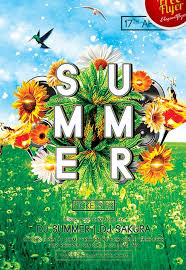 Green Party Flyer Download Green Summer Party Free Psd Flyer Template