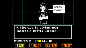 undertale screen size undertale oc battle screen giveaway by tiberius creations on deviantart