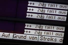 101 im verlauf der aufklärung der datenaffäre deckte lobbycontrol ende mai 2009 ebenfalls auf, 104 dass das unternehmen 1,3 mio. Lokfuhrer Kontra Deutsche Bahn Gdl Streik Beginnt Im Guterverkehr Wirtschaft Schwarzwalder Bote