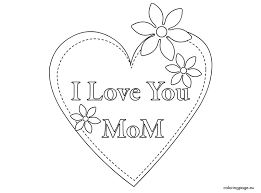 Small Picture I Love You Mommy Coloring Pages bestcameronhighlandsapartmentcom