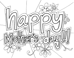 Free printable coloring pages for kids! Free Printable Mothers Day Coloring Pages For Kids