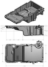 Engine Dimensions Chart Gm Ls Series Engine Oil Pan Dimensions