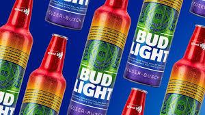Green Bud Light Bottles Bud Light Celebrates World Pride With Rainbow Inspired