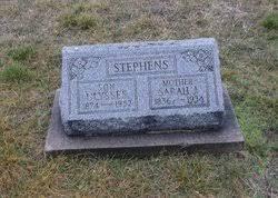 Sarah J. Moles Stephens (1856-1934) - Find A Grave Memorial